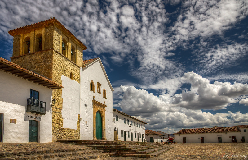 Golden square || Villa de Leyva - Colombia