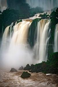 Iguazu Falls Long Exposure