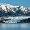 Grey Glacier and Mountain Backdrop