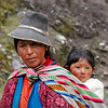 Andean Woman and Child