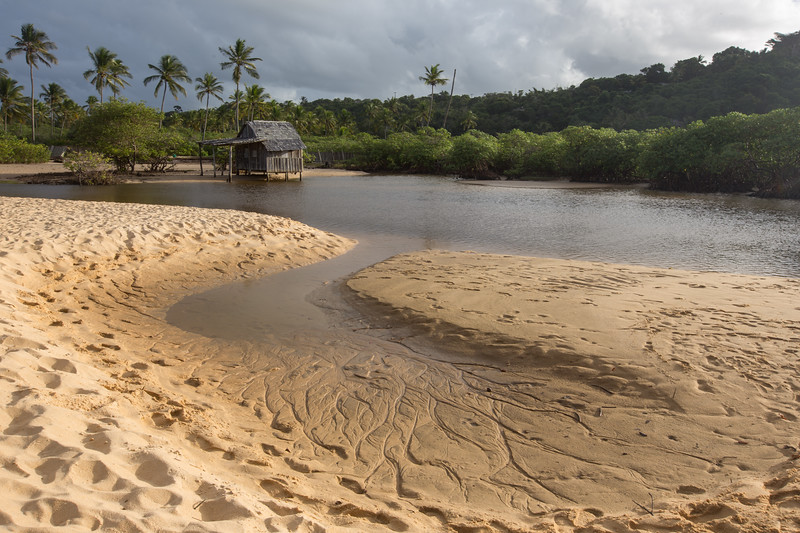 Lagoon of Trancoso Beach
