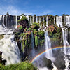 Iguazu Falls and Rainbow