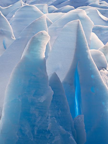 Ice Piinnacles - Grey Glacier