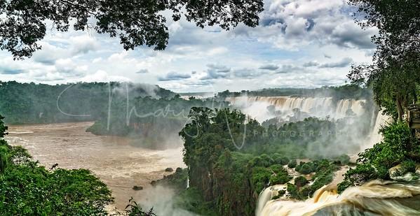 Iguazu Falls pano