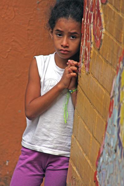 Child of the Favela's in Rio de Janeiro, Brazil