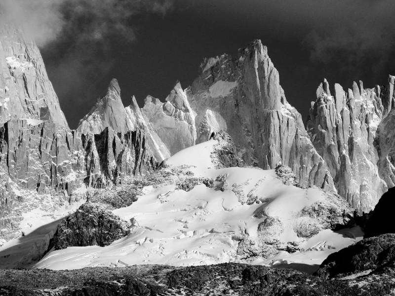 Aguja Mermoz, Fitz Roy Massif - Argentina