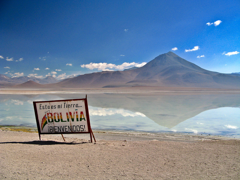 Bolivia-Chile Border<br /> <br /> This is probably one of the most desolate border crossings you will find anywhere in the world.