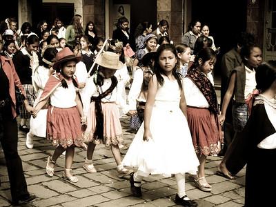 Christmas Parade - Cuenca, Ecuador
