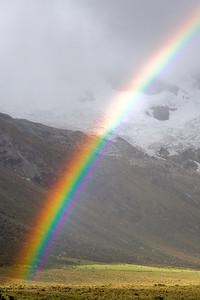 Rainbow - Cordillera Blanca, Peru