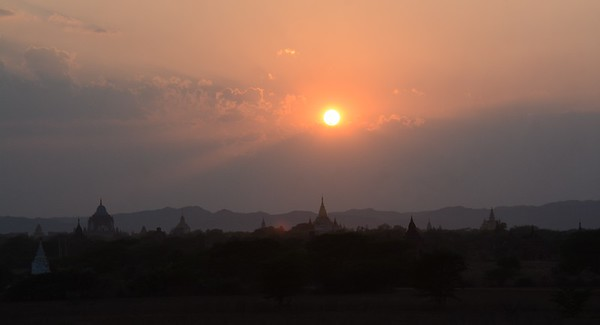 From Yangon we flew for an over-night in Bagan - With its 3,000 temples