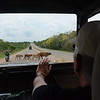 On the road to a elephant orphanage and National Park Safari in Sri Lanka