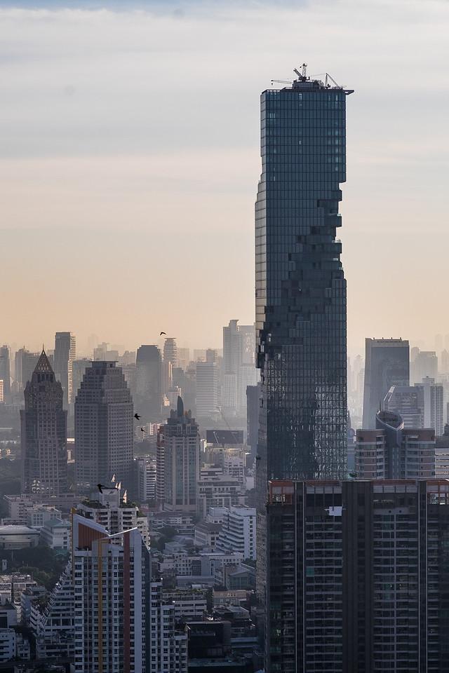 The Mahanakhon Tower