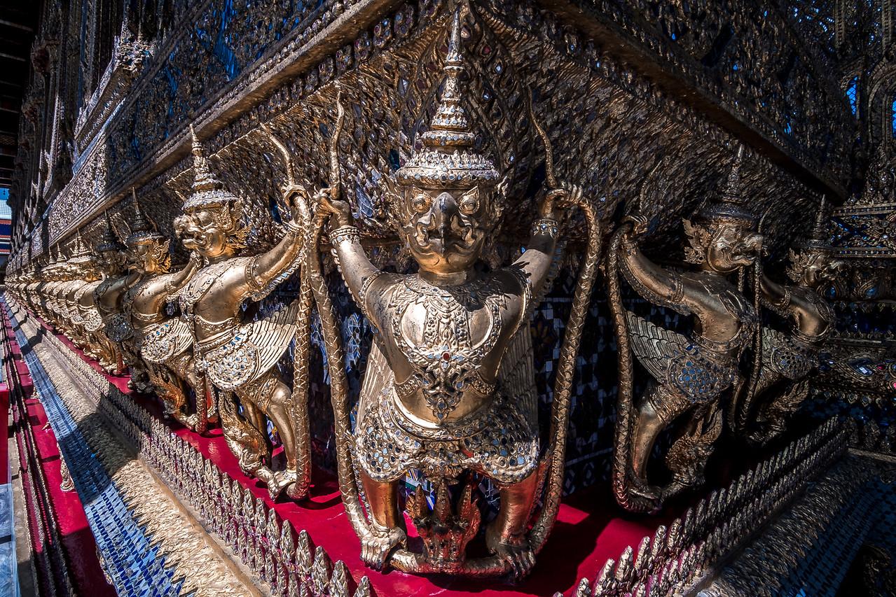 Bangkok Royal Palace-Naga and Garuda