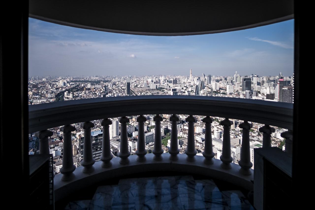 Lebua State Tower Balcony