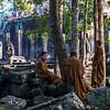 Young Monks ay Bayon Temple