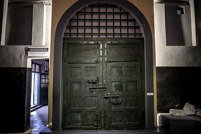 The Front Door of Ha Lo Prison