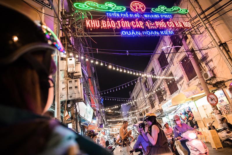 Scooter Ride in Hanoi