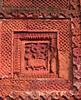 Terra cotta decoration, Puthia