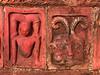 Terra cotta decoration, Paharpur