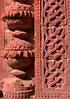 Terra cotta decoration, Khania Dighi Mosque, Gaud