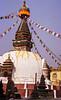 Stupa, Thamel, Kathmandu