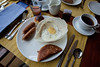 Nice Breakfast with Egg Hopper