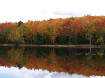 Incredible color on Half Moon Lake