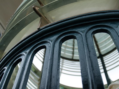 I believe this is a second order lens at the top of the lighthouse.