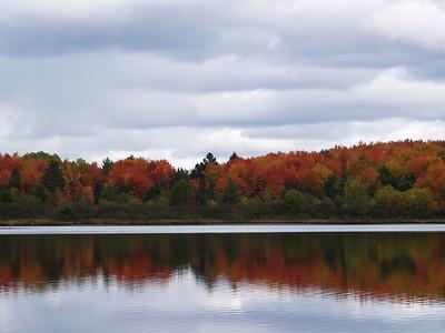Half Moon Lake reflection