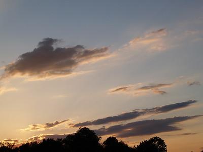 Sunset over Marblehead, Ohio