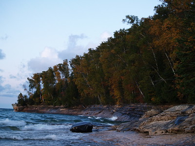 Color on Miners Beach, Pictured Rocks National Lakeshore