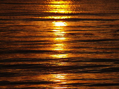 Reflection of a June sunset (2008).