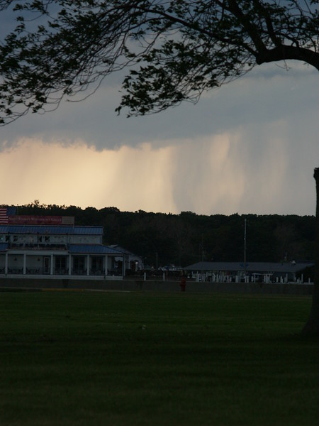 June storm - looking toward Put-in-Bay