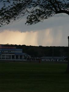 June storm - looking toward Put-in-Bay