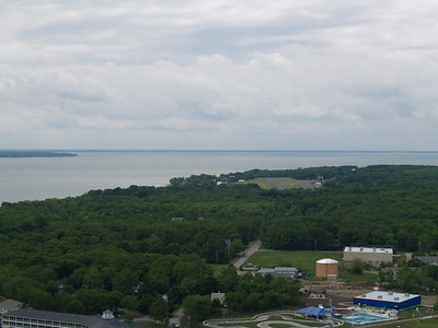 looking southwest from the deck