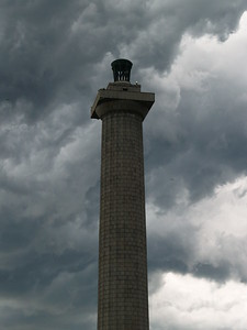 June storm clouds