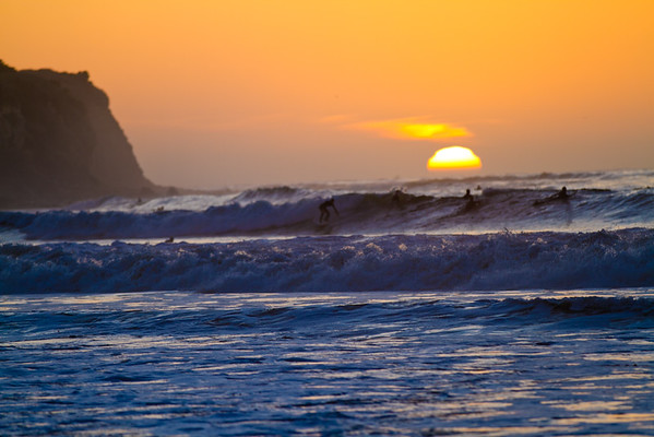 Sunset Surfers, Torrance Beach, CA