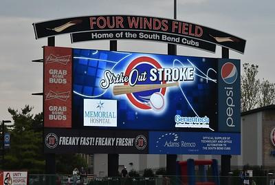 South Bend Cubs vs Lansing Lug Nuts  5-27-16