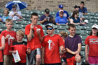 South Bend Cubs vs Great Lakes Loons  5-26-16