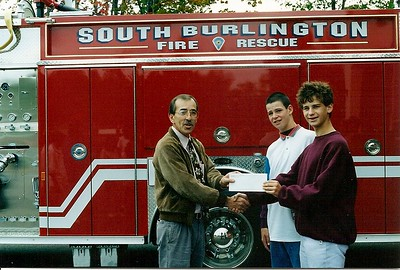 South Burlington Fire Department Scanned Cataloged image, Date and exact location unknown