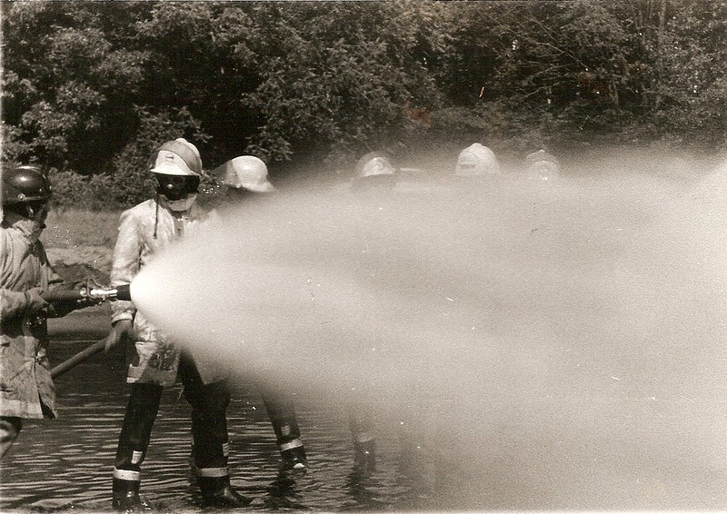 South Burlington Fire Department Scanned Catalog image of Fire Training