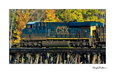 Train Crossing on Lake Greenwood South Carolina