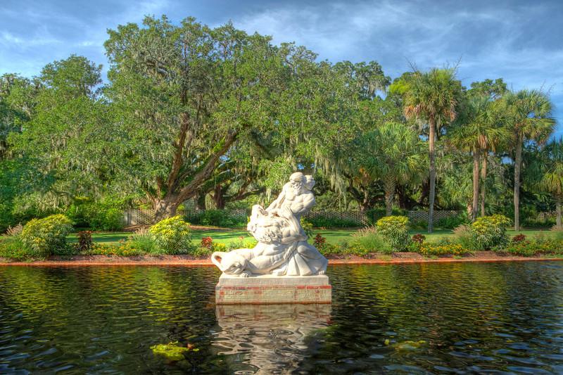 Fountain at Brookgreen Gardens