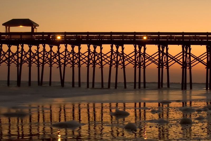 """Sunset At The Pier"""