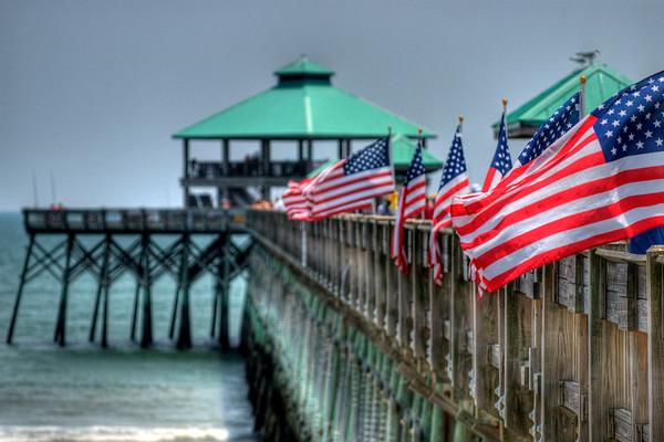 Folly Beach PIer in Folly Beach, SC