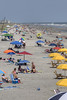 People enjoy a day on the beach in Folly Beach, SC on Sunday, September 8, 2013. Copyright 2013 Jason Barnette