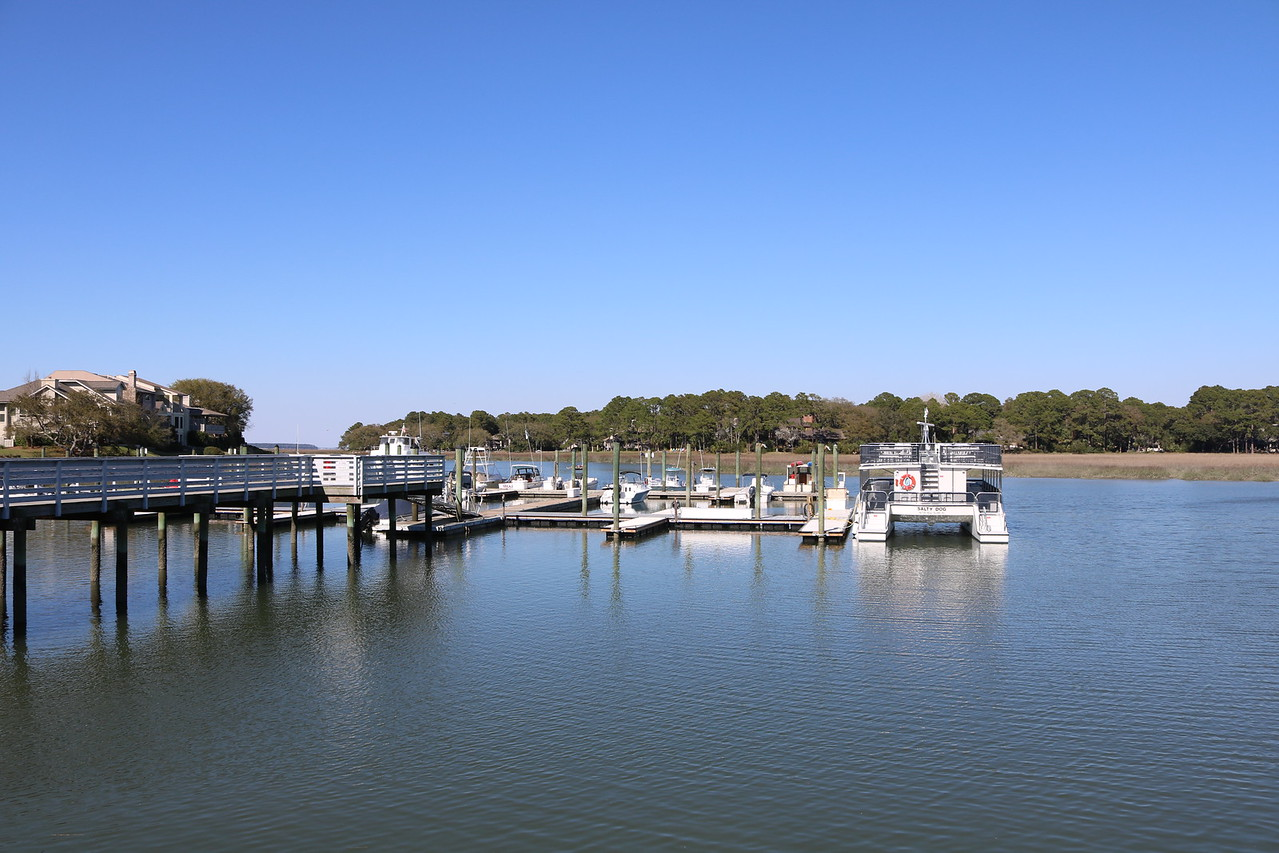 Dock near the Salty Dog Cafe