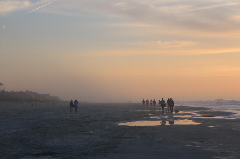 Hazy Morning on the Beach