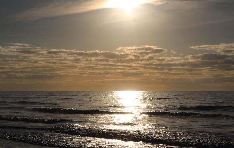 Morning Sun over the Horizon