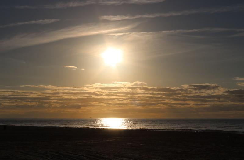 Sunrise at Coligny Beach